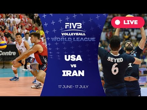 United States v Iran - Group 1: 2016 FIVB Volleyball World League
