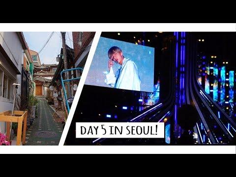 Day 5 in Seoul (Bukchon Hanok Village/ G100 Concert (BTS!!!!)- - ♥