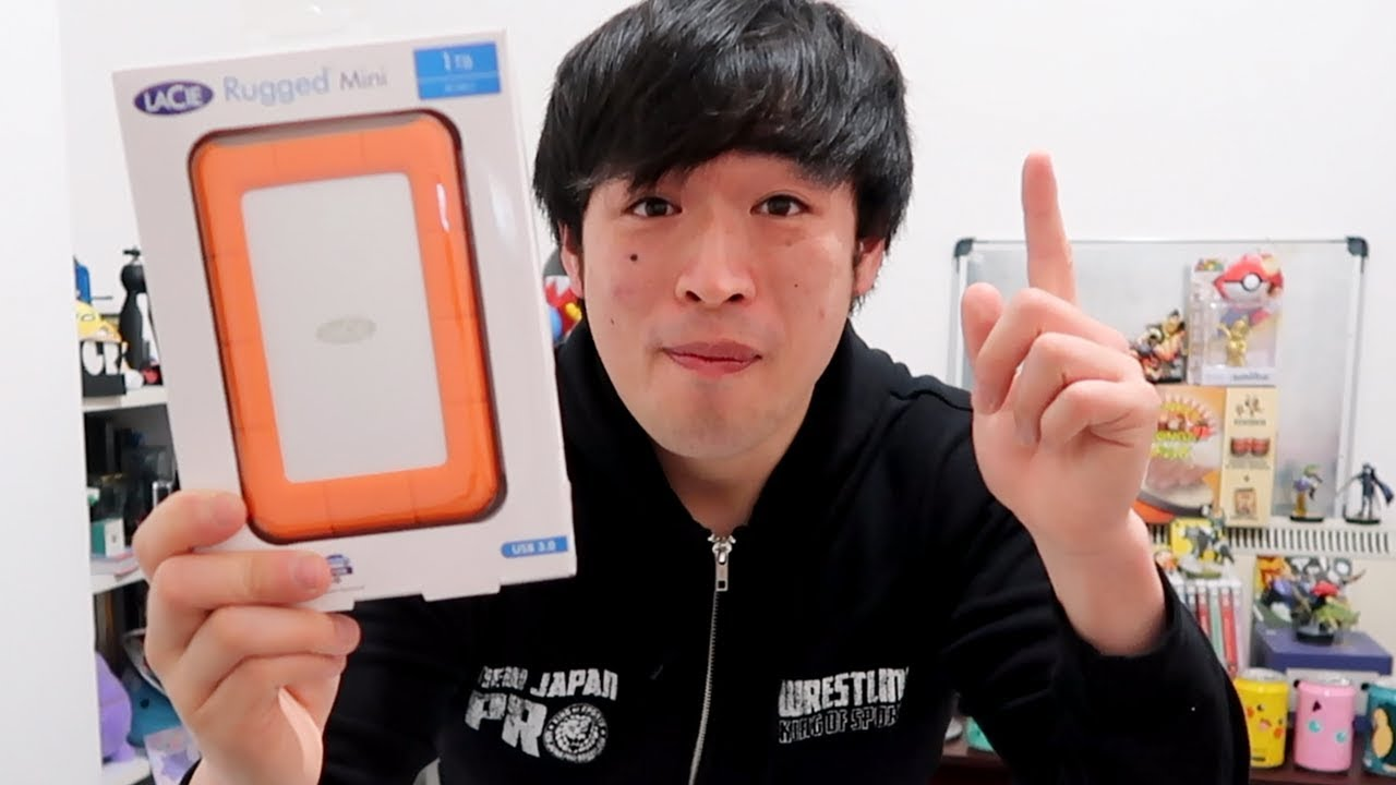 Lacie Rugged Mini Unboxing Review