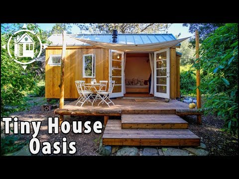 Female Designer Creates Tiny House Oasis in California