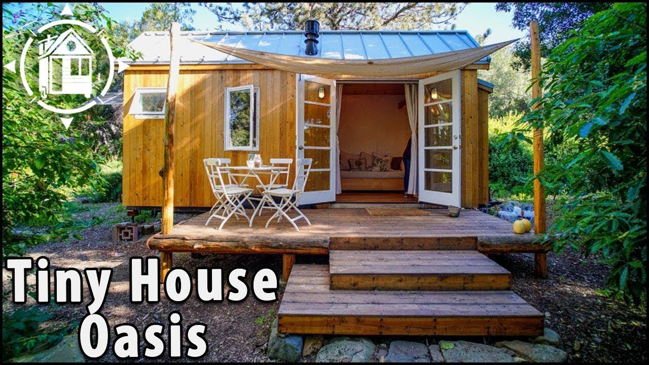 Lady Builds Affordable Tiny House To Live In Expensive