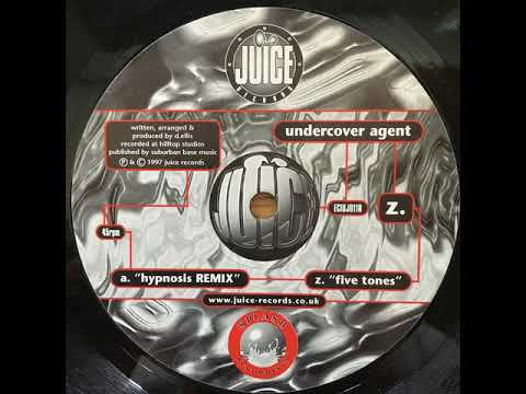 Undercover Agent - Hypnosis (Remix)  - Juice Records - 1997