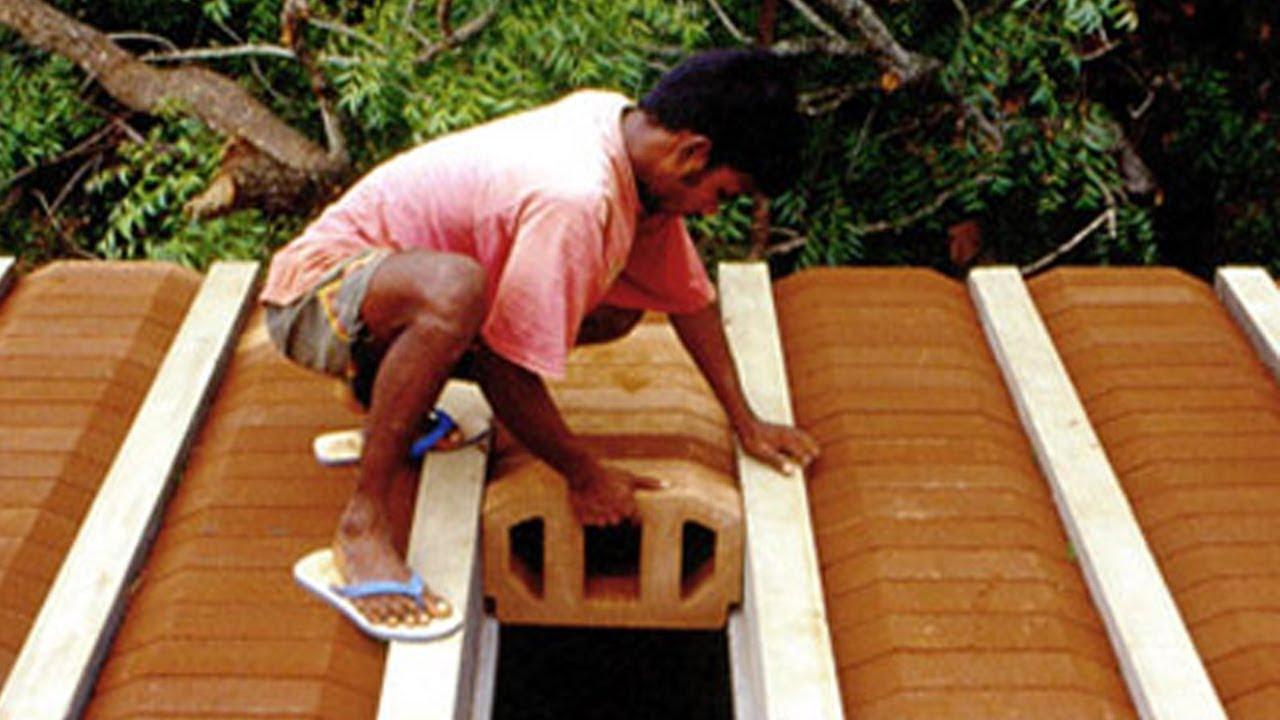 Qt4 18 Hourdi Roofing Block Making Machine Used On