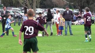 2013 U11a Football Round 1 Brighton SC Green v. Glen Eira JSC Green (FTS)