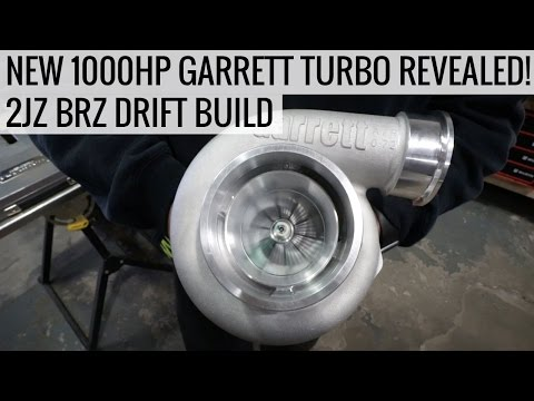 New 1000HP Garrett GTX RS Turbo Revealed! - 2JZ BRZ Drift Build - EP03
