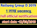 RRC Group d recruitment 2019   new vacancy    full details    check out
