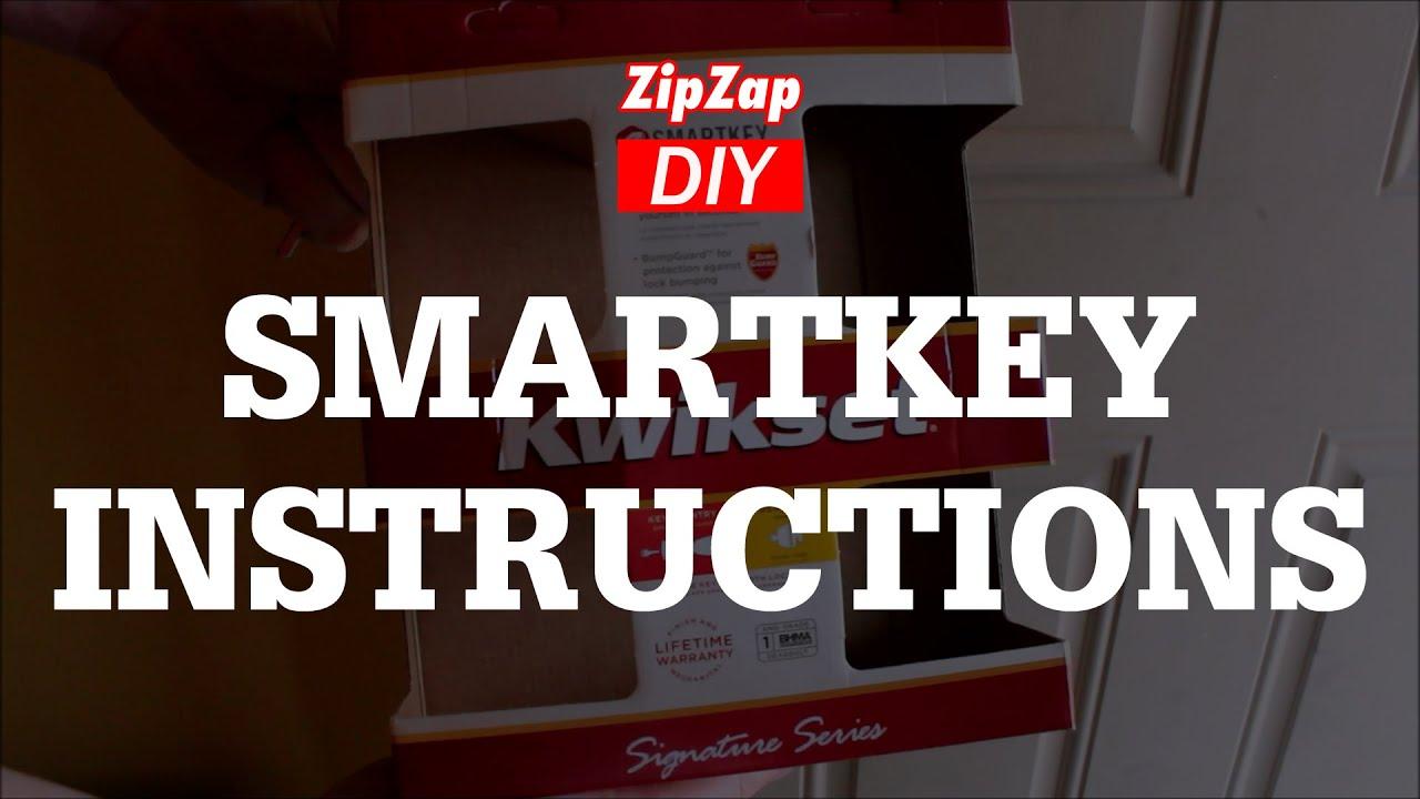Kwikset Smartkey Rekey Instructions Youtube