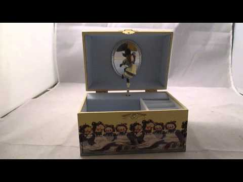 Raggedy Ann Music Jewelry Box