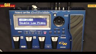 Roland - GR55 Guitar Synthesizer with GK3 Pickup Demo at GAK