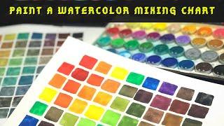 Paint a watercolor chart | Liliane Avalos