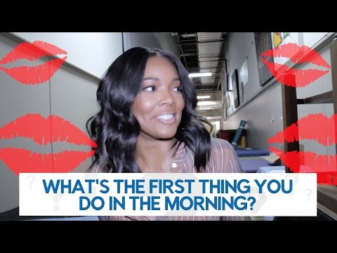 Gabrielle Union: Questions to the Stage || STEVE HARVEY
