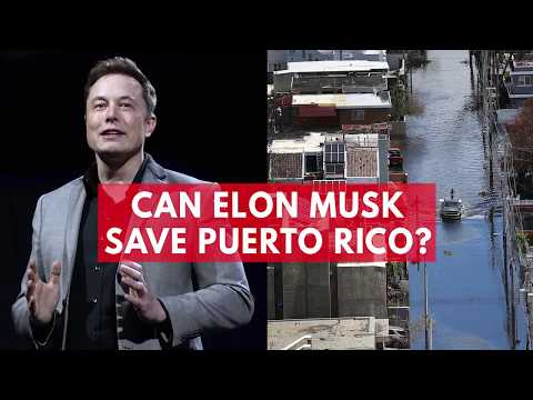 Elon Musk wants to save Puerto Rico with solar power