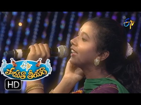 Tellavaraka Munde Song - Krishna Priya Performance in ETV Padutha Theeyaga - 16th May 2016