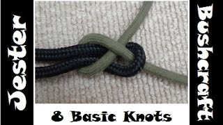 Bushcraft - Learning 8 Basic Knots