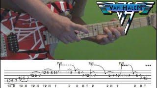Guitar Lesson - You're No Good (Van Halen) solo with Tabs!