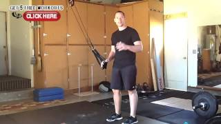 trx chest and back workout