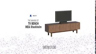 Revit Families: Tv Bench Ikea