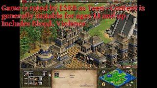 Age of Empires 2: The Conquerors (Aztecs, random battle, longplay, HD)