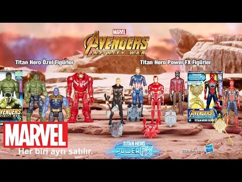 Hasbro Türkiye - Marvel Avengers: 'Titan Hero Power Tech' Reklam Filmi