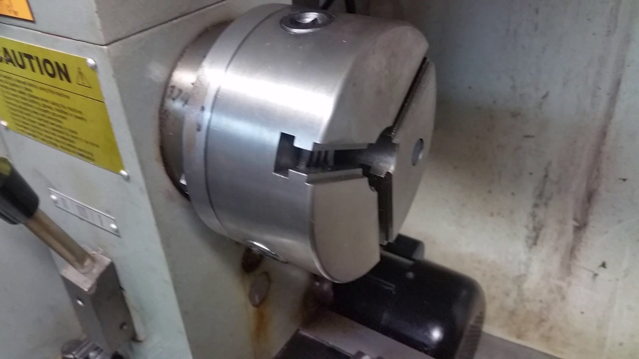 Beginer Lathe Lesson, Chucks: How to Install Jaws on a 3 Jaw Self Center  Chuck
