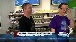 Local marijuana dispensary reacts federal marijuana crackdown