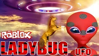 ROBLOX UFO Simulator 🐞 Miracle Ladybug and We're 🐞 Turkish Roleplay Rolblox 🐞Part 2