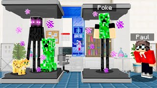 We Used Minecraft DNA To Become SUPER POKE!