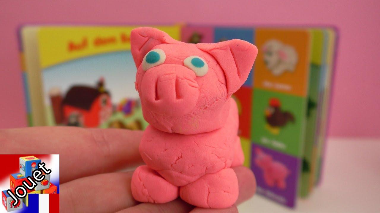 petit cochon play doh adorables petits animaux en p 226 te 224 modeler d 233 mo