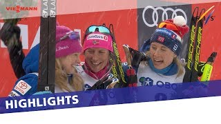 Marit Bjoergen Comes From Behind To Take Historic Victory In Oslo Holmenkollen 30 Km | Highlights