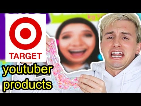 TESTING YOUTUBER PRODUCTS I FOUND IN TARGET