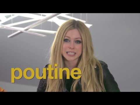 """Avril Lavigne - """"Cooking Poutine With Avril"""" 20/11/2013"""
