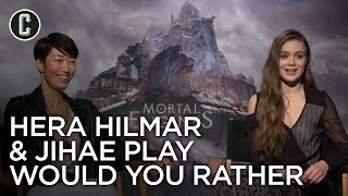 Mortal Engines: Hera Hilmar & Jihae Interview