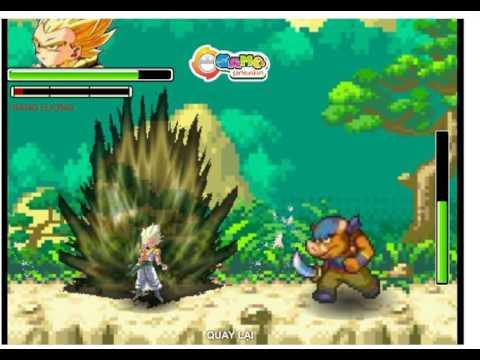Game 7 viên ngọc rồng Siêu Cấp - Songoku Supper Saya