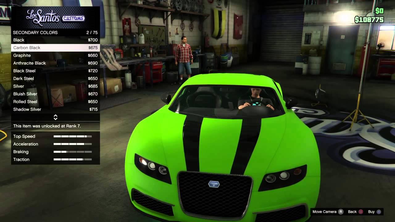 Best Car Paint For Gta