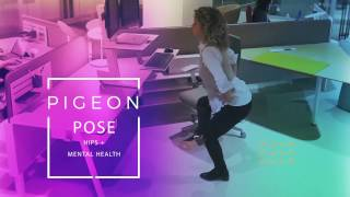 A Hip Movement - Discreet Yoga to do at Your Desk