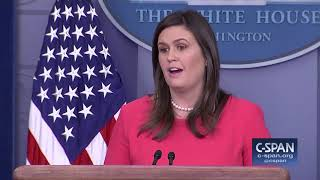 Word for Word: Sarah Sanders Says Climate Report Was