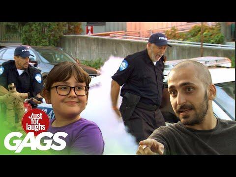 Voodoo Girl Attacks the Police Prank!!