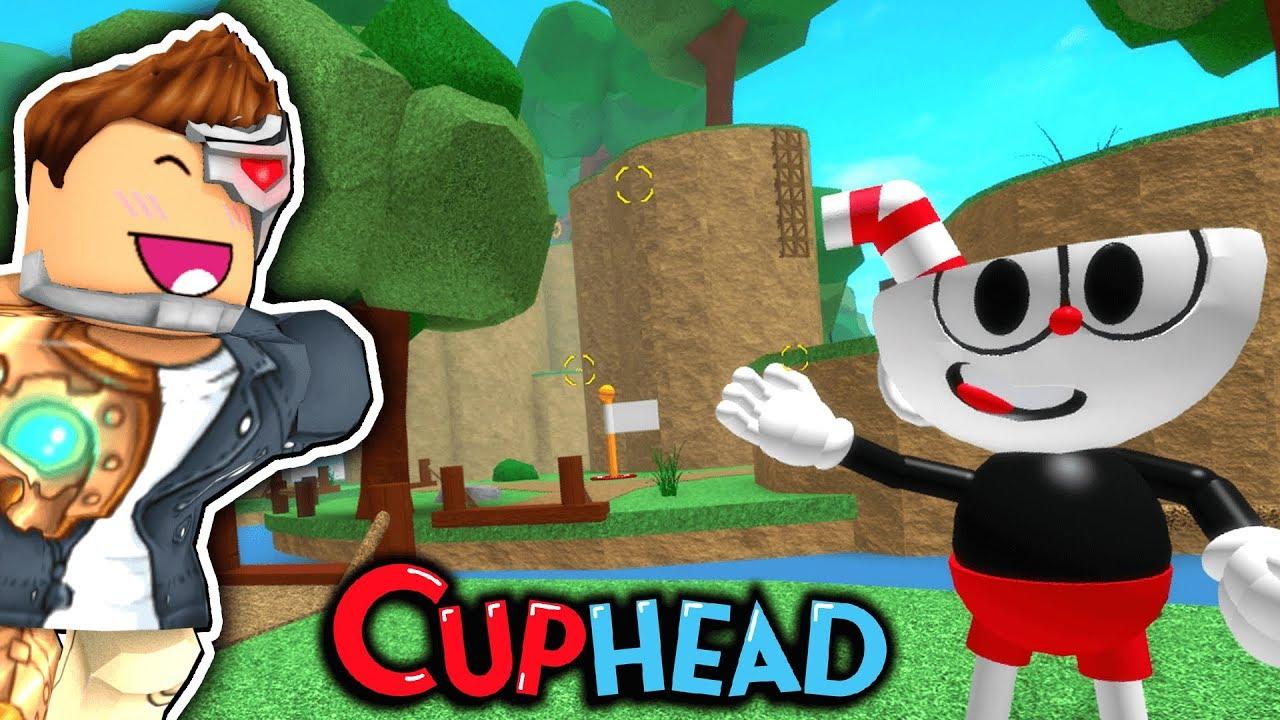 Cuphead In Flood Escape 2 Roblox Youtube