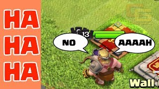 Clash of Clans Funny Moments Trolls Compilation #12 | COC Montage