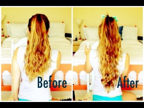 SUPER LONG ponytail without extensions!