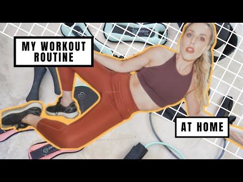 MY DAILY WORKOUT ROUTINE AT HOME/P.VOLVE WORKOUT AND P.VOLVE REVIEW