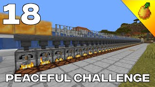 Peaceful Challenge #18: Furnace XP Farm And Bartering