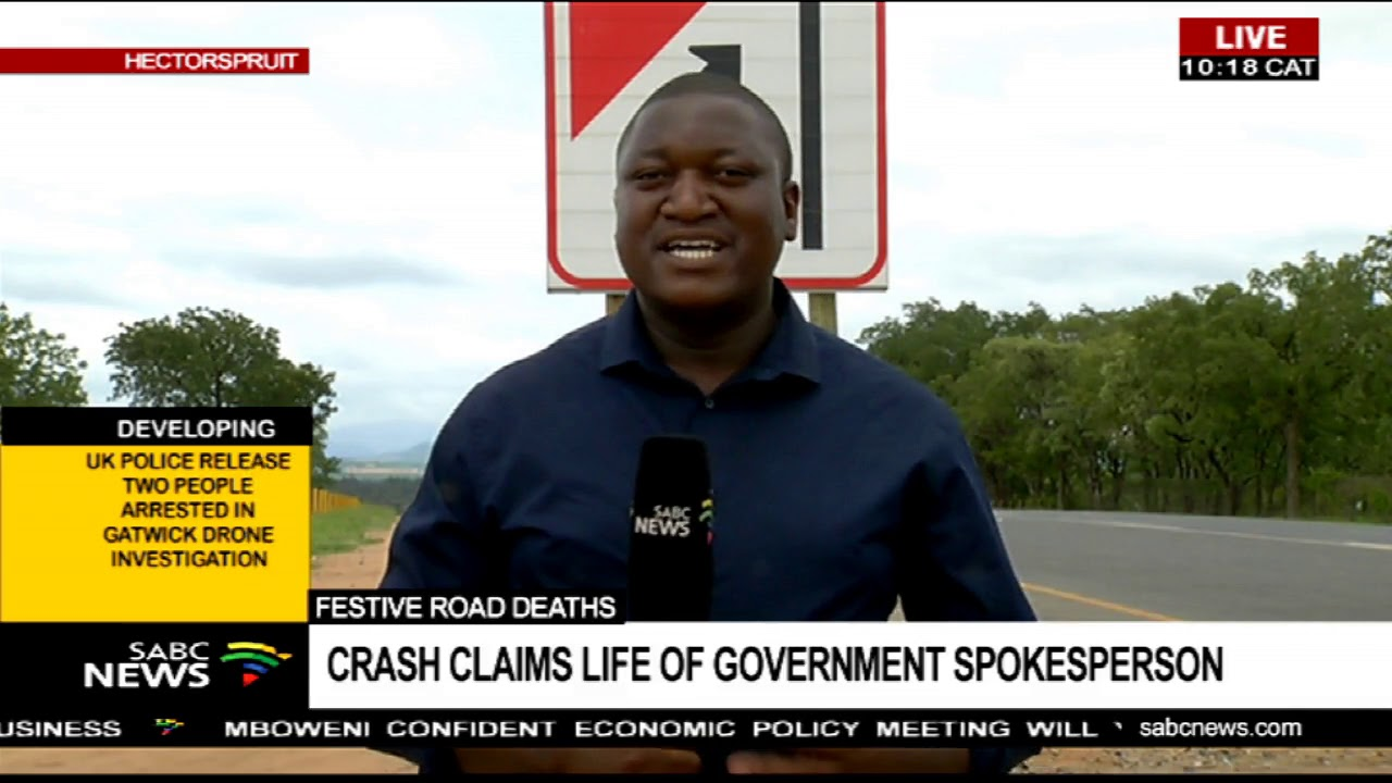 UPDATE: Crash claims life of Mpumalanga govt spokesperson