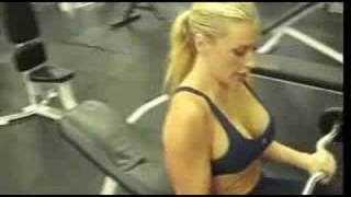 April Moore Arm Workout