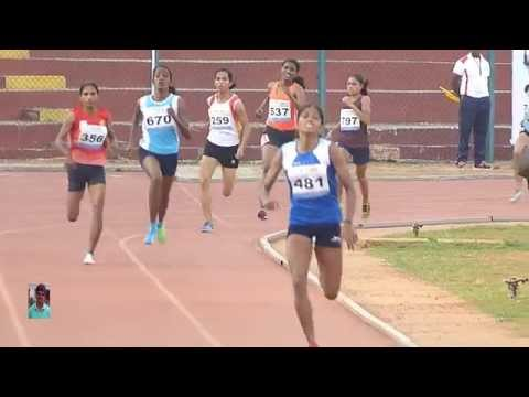 WOMEN'S  800m RUN FINAL .19th NATIONAL FEDERATION CUP Sr. ATHLETICS CHAMPIONSHIPS-2015