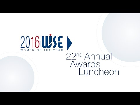 WISE Women of the Year Luncheon 2016