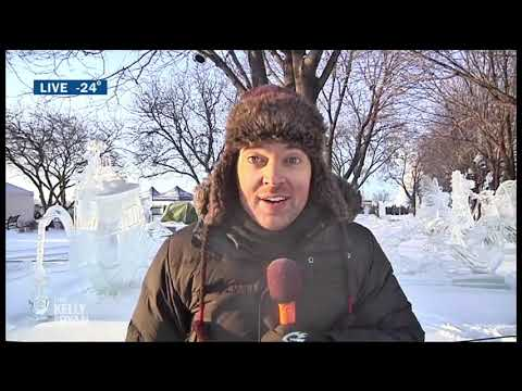 Steve Patterson Gives a Weather Report from Freezing Cold Minnesota