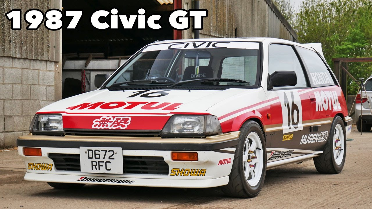 Accord V Race Car