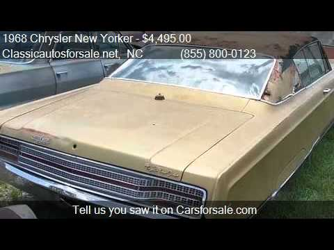 1968 chrysler new yorker for sale in nationwide nc 27603. Black Bedroom Furniture Sets. Home Design Ideas