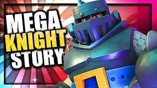 How did the Builder become the Mega Knight? Mega Knight Origin Story | Clash of Clans & Clash Royale